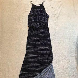 Black/White/Grey maxi dress from Lush